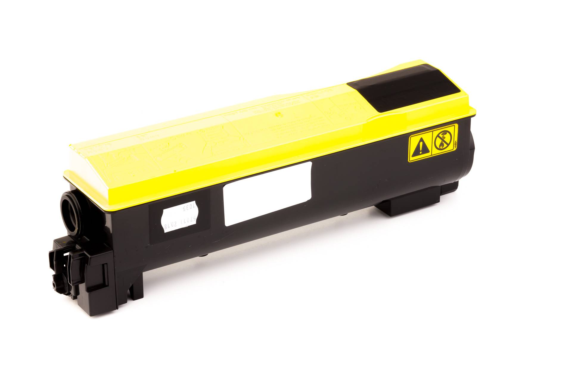 Kyocera Cartouche de Toner pour Kyocera 1T02HGAEU0 / TK-570 Y jaune compatible (de marque ASC)