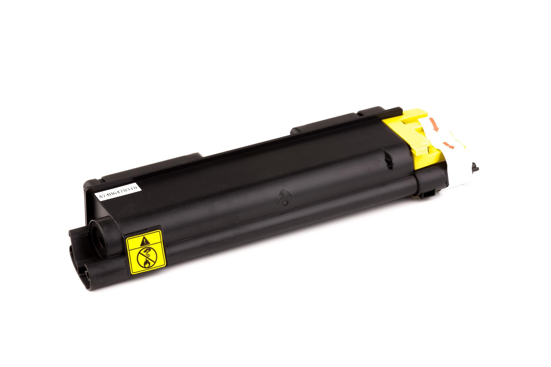 Kyocera Cartouche de Toner pour Kyocera 1T02KVANL0 / TK-590 Y jaune compatible (de marque ASC)