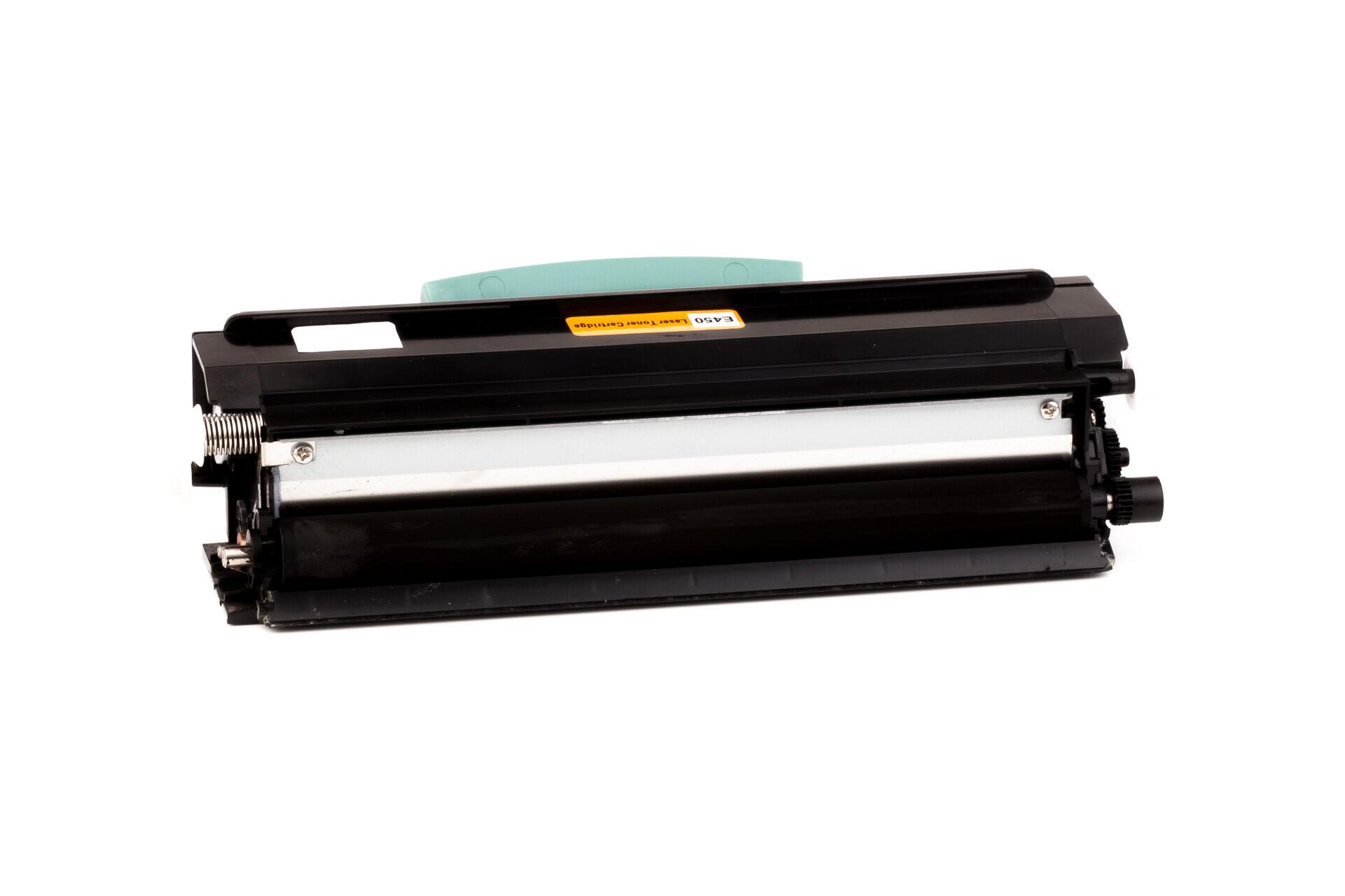 Lexmark Cartouche de Toner pour Lexmark E450H11E noir compatible (de marque ASC)