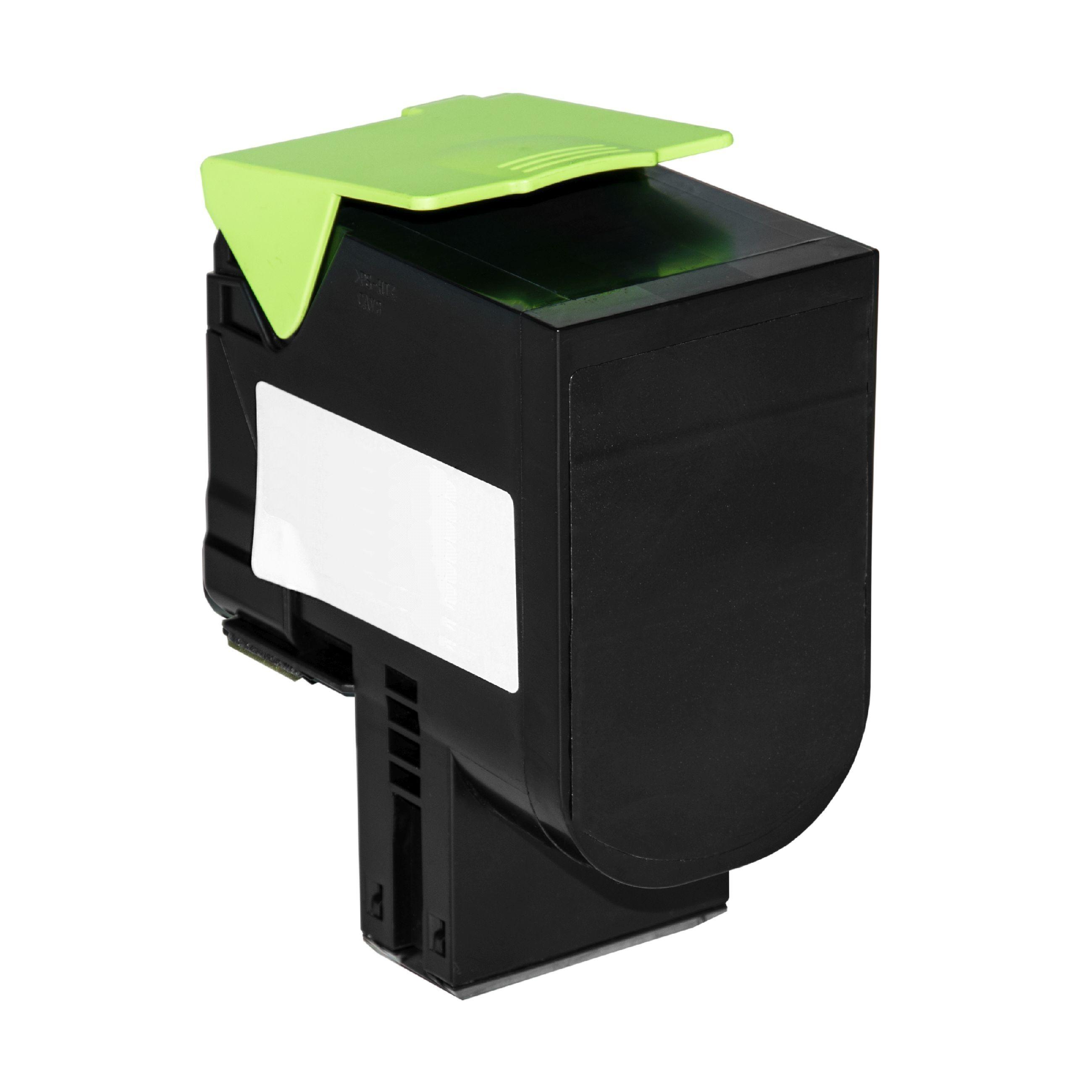Lexmark Cartouche de Toner pour Lexmark 70C20K0 / 702K noir compatible (de marque ASC)