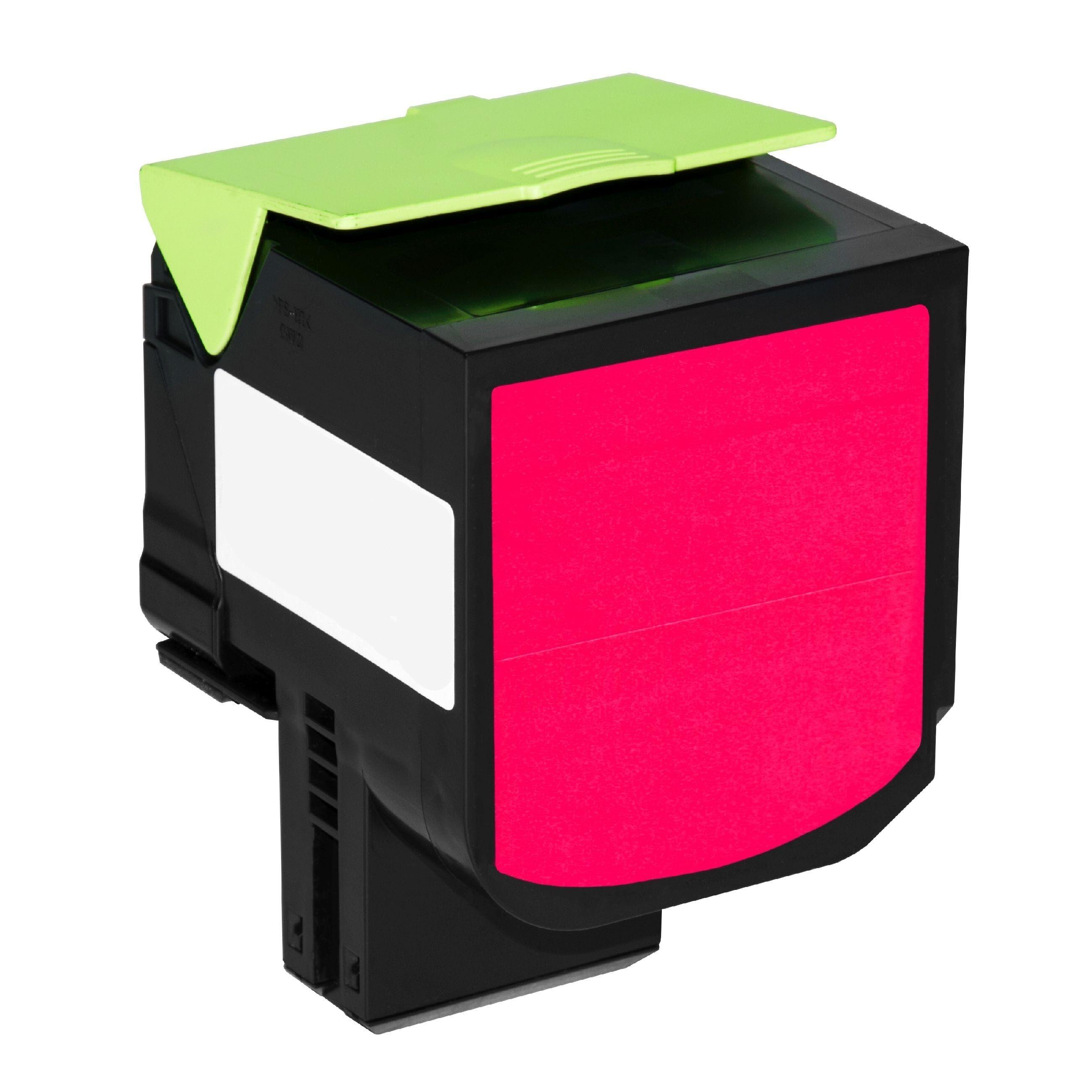 Lexmark Cartouche de Toner pour Lexmark 80C0X30 / 800X3 magenta compatible (de marque ASC)