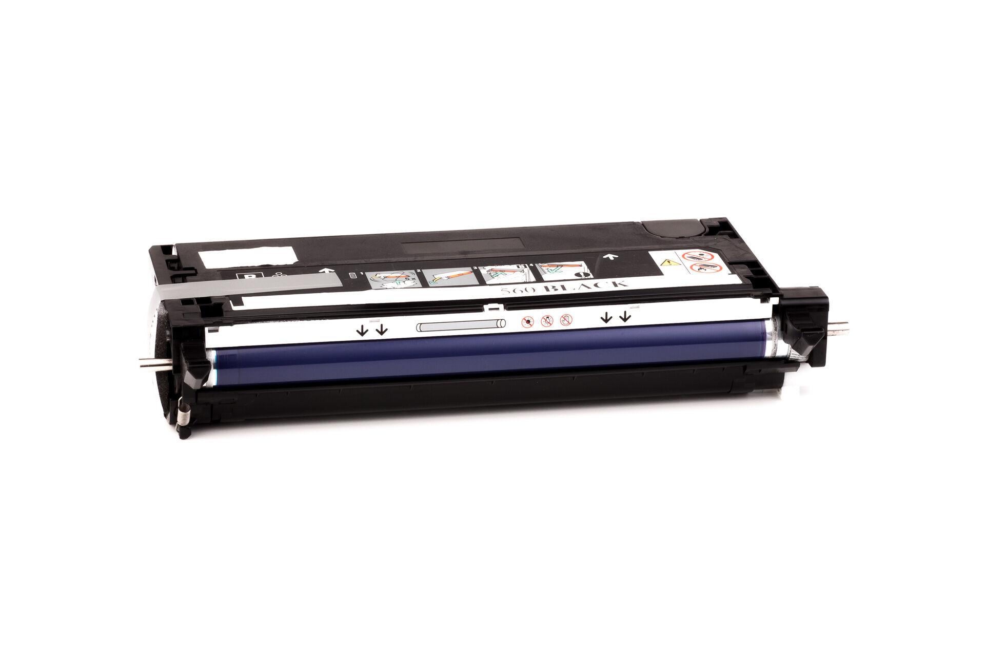 Lexmark Cartouche de Toner pour Lexmark 12A6735 noir compatible (de marque ASC)