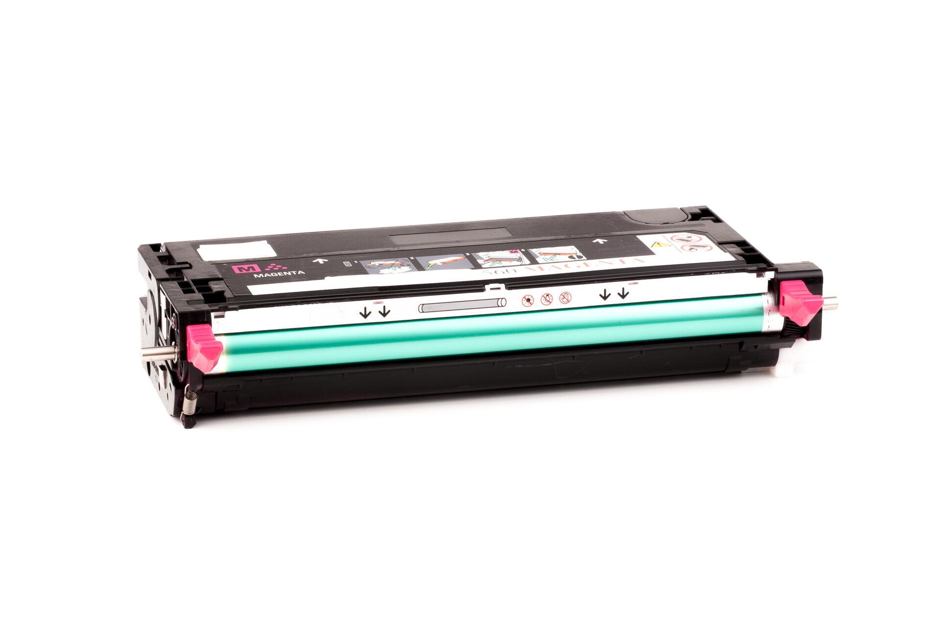 Lexmark Cartouche de Toner pour Lexmark X560H2MG magenta compatible (de marque ASC)