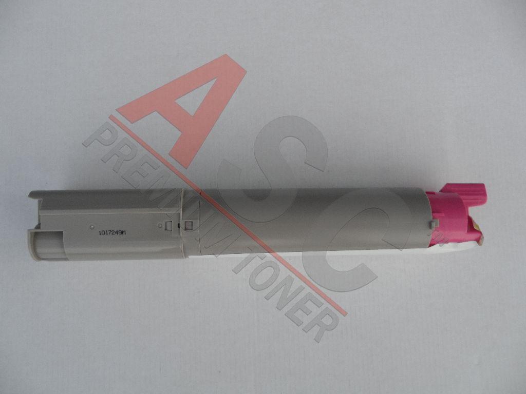 OKI Cartouche de Toner pour OKI 43459370 magenta compatible (de marque ASC)