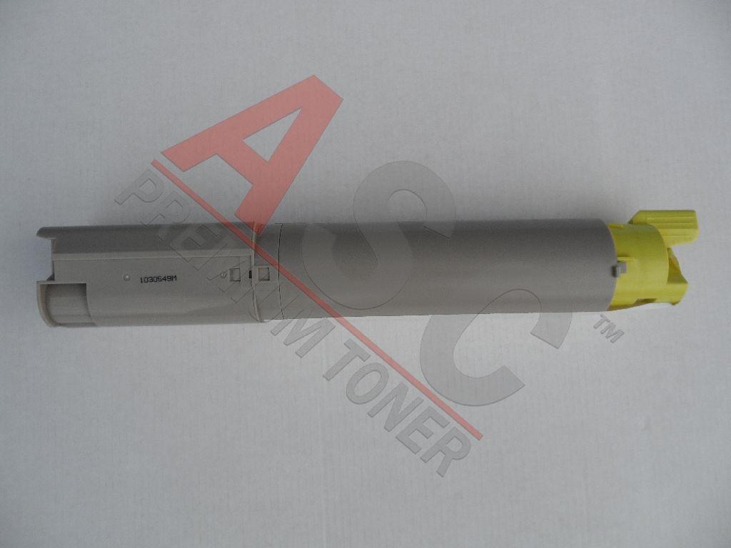 OKI Cartouche de Toner pour OKI 43459369 jaune compatible (de marque ASC)