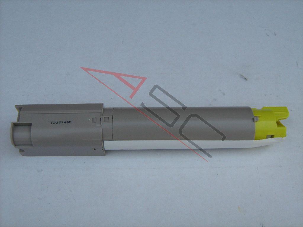 OKI Cartouche de Toner pour OKI 43459329 jaune compatible (de marque ASC)