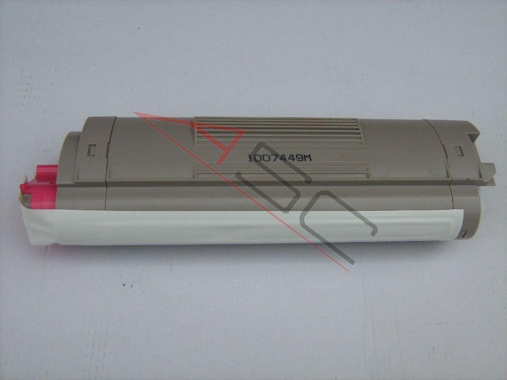 OKI Cartouche de Toner pour OKI 43381906 magenta compatible (de marque ASC)