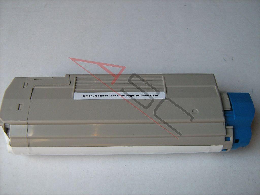 OKI Cartouche de Toner pour OKI 43872307 cyan compatible (de marque ASC)