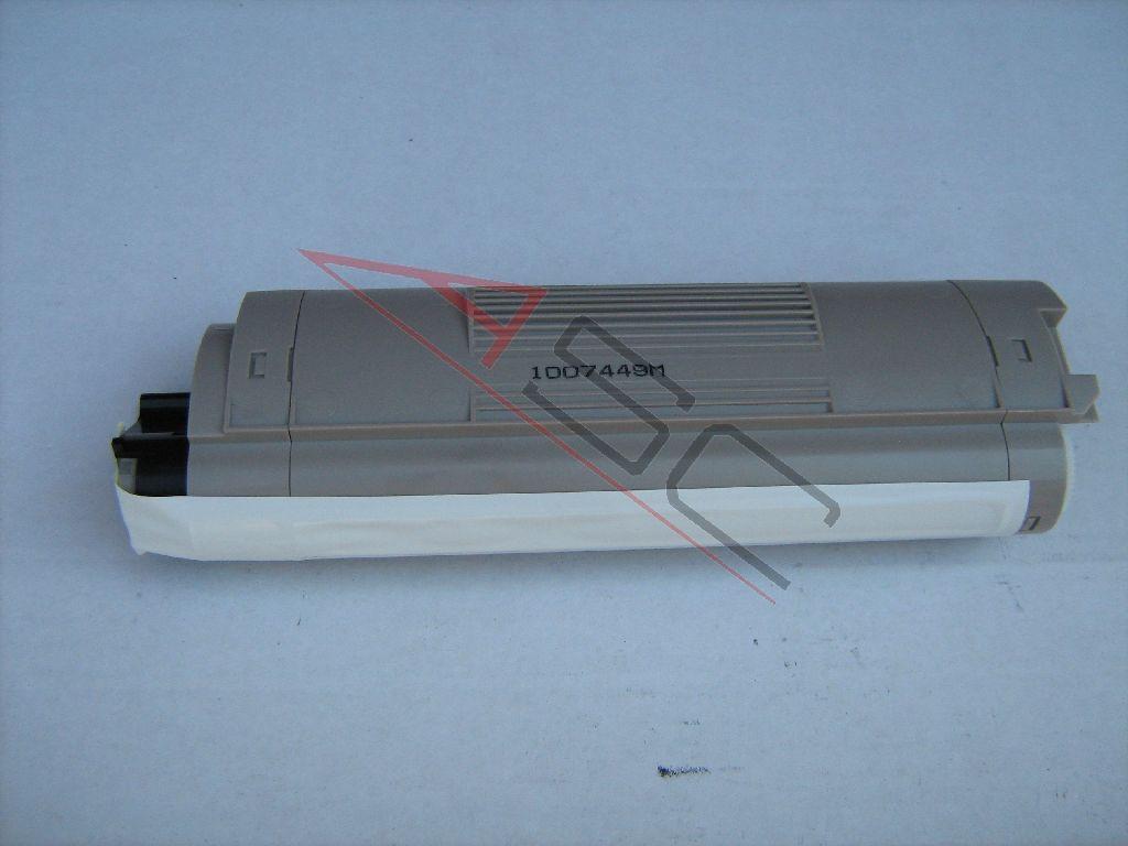 OKI Cartouche de Toner pour OKI 43324424 noir compatible (de marque ASC)