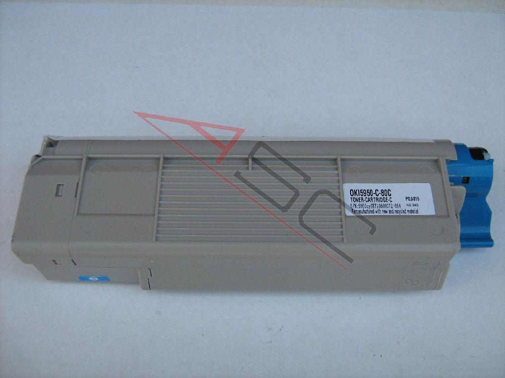 OKI Cartouche de Toner pour OKI 43865723 compatible (de marque ASC)