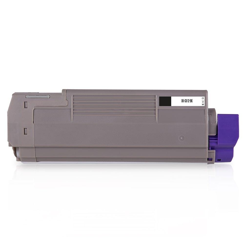 OKI Cartouche de Toner pour OKI 46507508 noir compatible (de marque ASC)