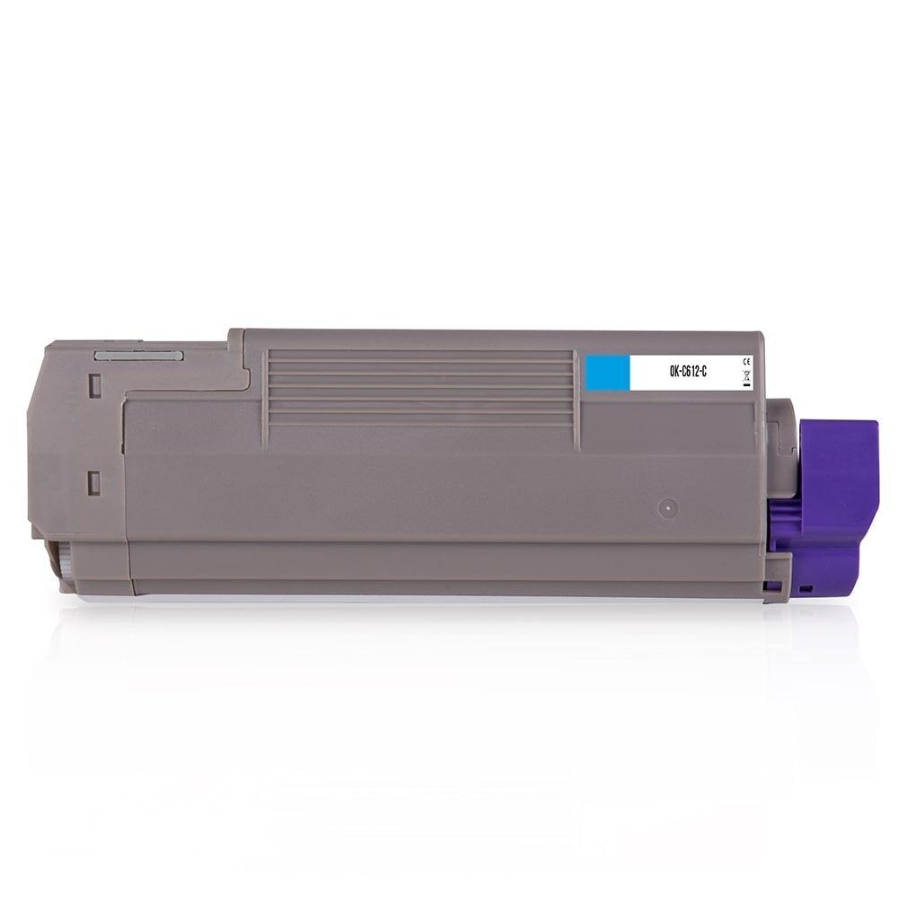 OKI Cartouche de Toner pour OKI 46507507 cyan compatible (de marque ASC)