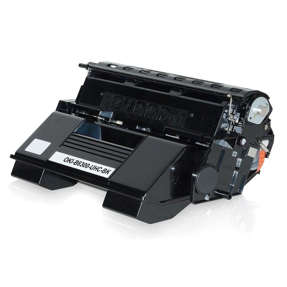 OKI Cartouche de Toner pour OKI 09004079 noir compatible (de marque ASC)