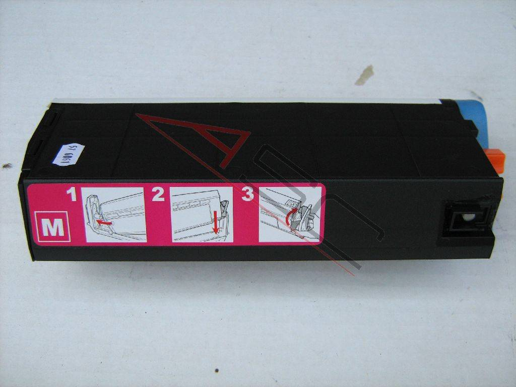 OKI Cartouche de Toner pour OKI 41963006 magenta compatible (de marque ASC)