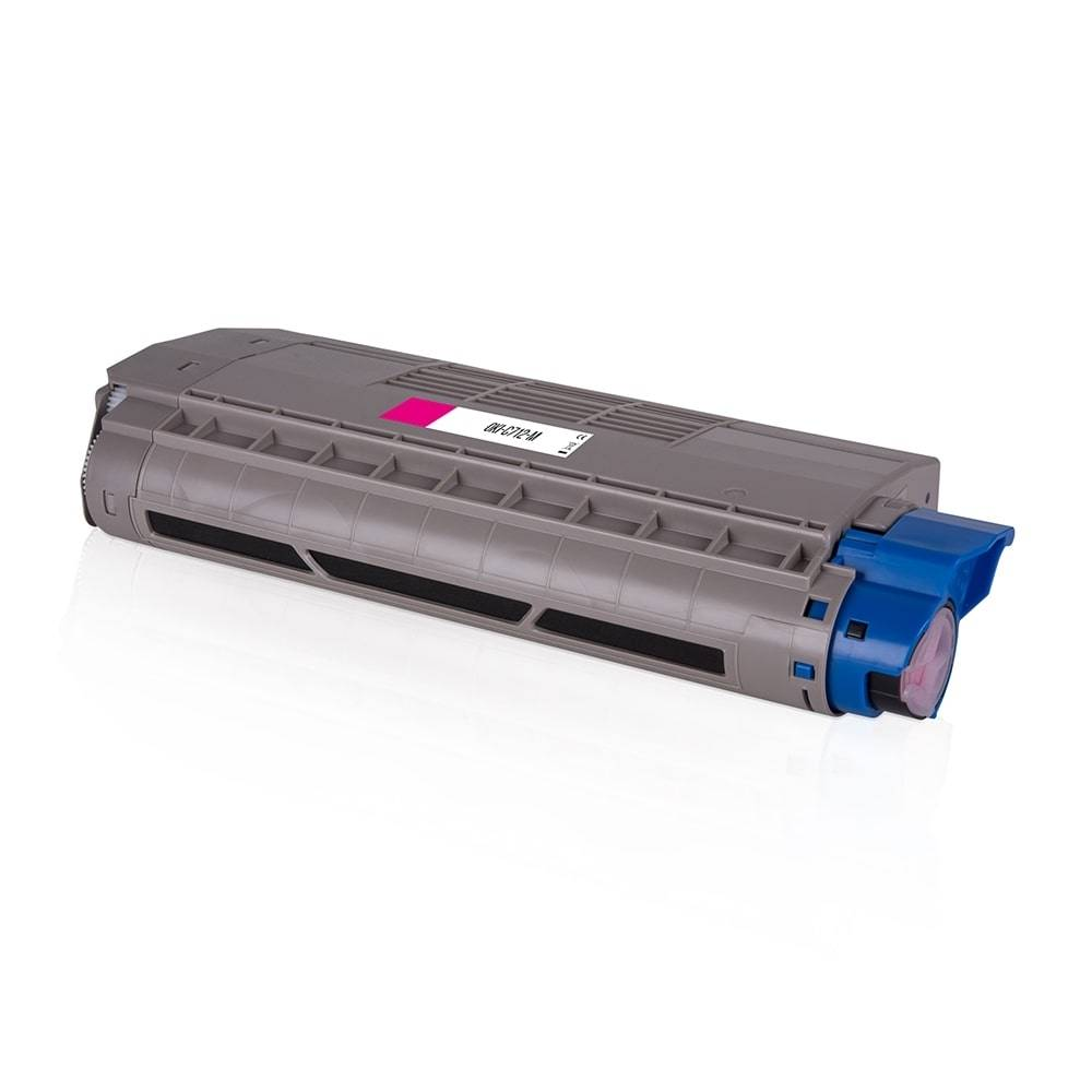 OKI Cartouche de Toner pour OKI 46507614 magenta compatible (de marque ASC)
