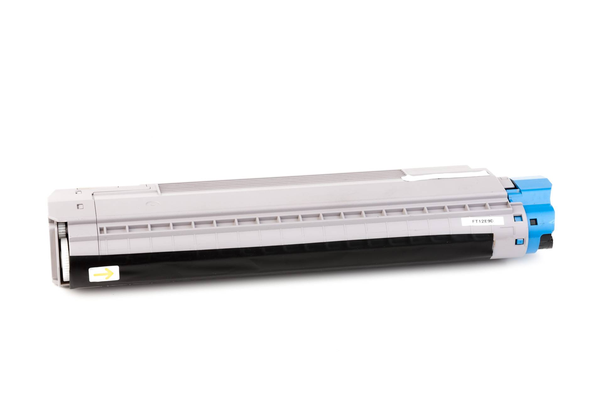 OKI Cartouche de Toner pour OKI 44059107 cyan compatible (de marque ASC)