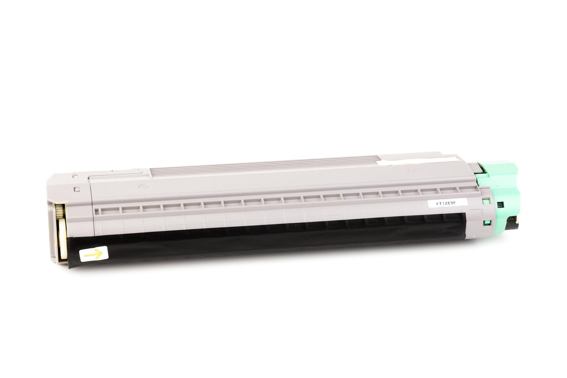 OKI Cartouche de Toner pour OKI 44059105 jaune compatible (de marque ASC)