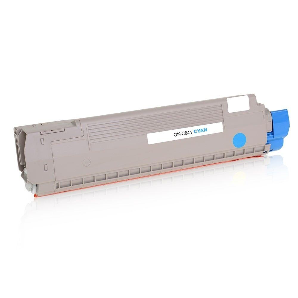 OKI Cartouche de Toner pour OKI 44844507 cyan compatible (de marque ASC)