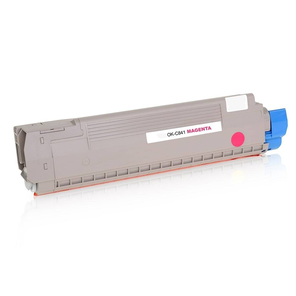 OKI Cartouche de Toner pour OKI 44844506 magenta compatible (de marque ASC)