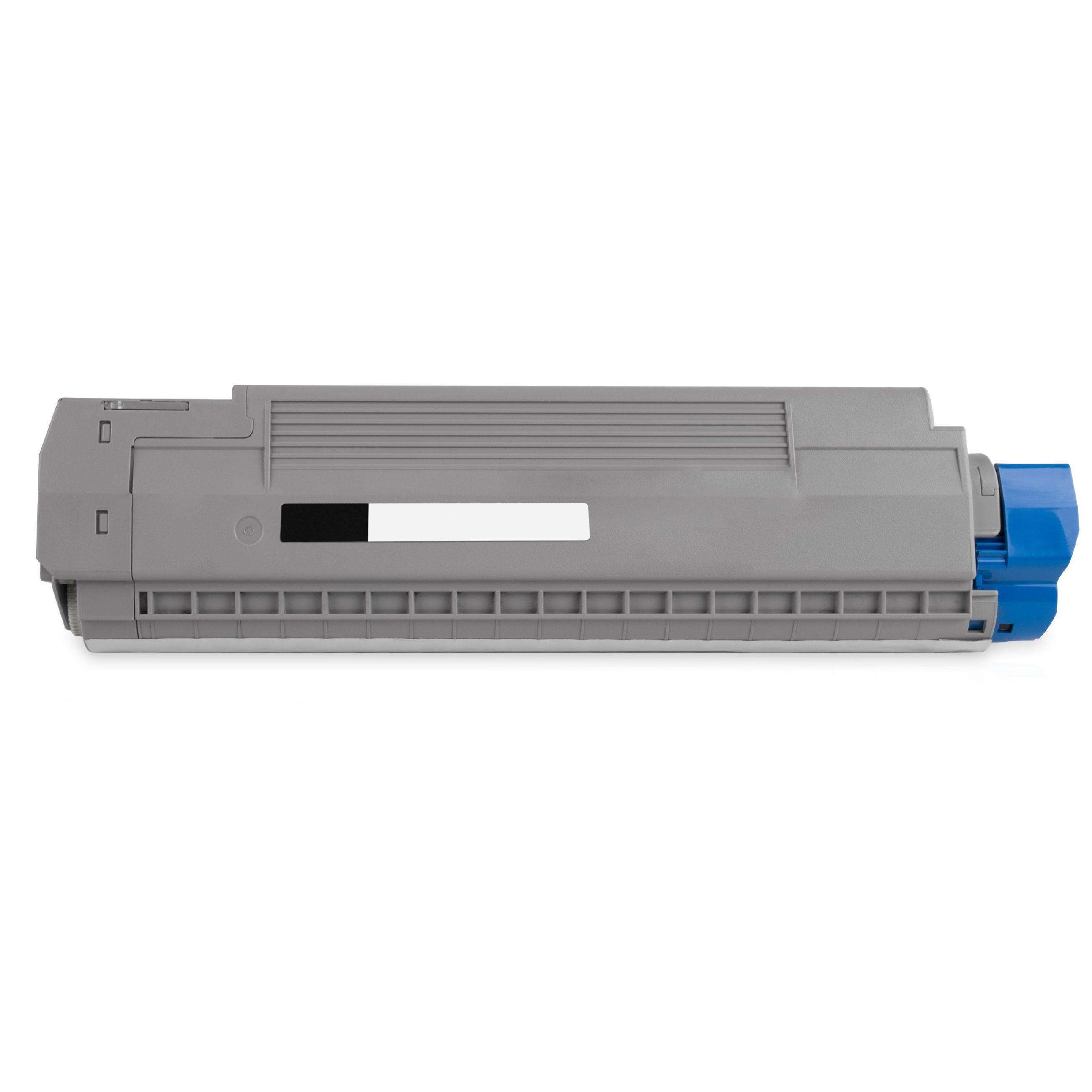 OKI Cartouche de Toner pour OKI 44059260 noir compatible (de marque ASC)