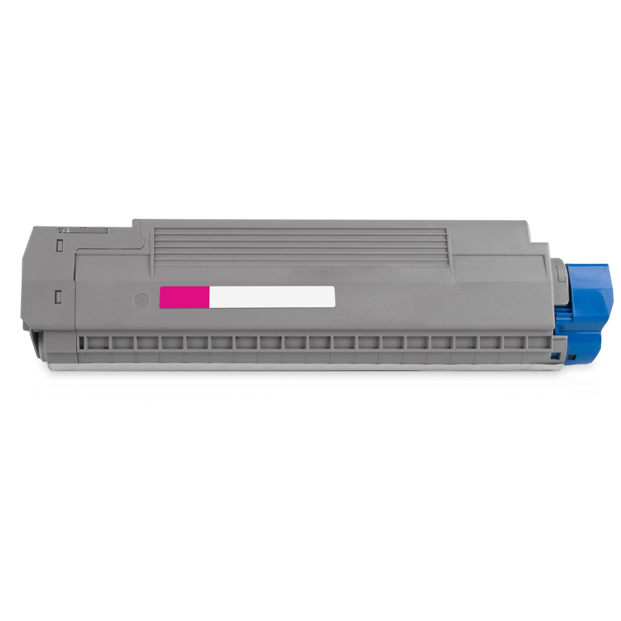 OKI Cartouche de Toner pour OKI 44059258 magenta compatible (de marque ASC)