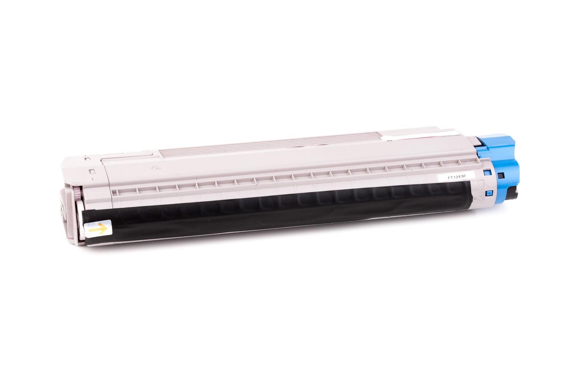 OKI Cartouche de Toner pour OKI 43487710 magenta compatible (de marque ASC)