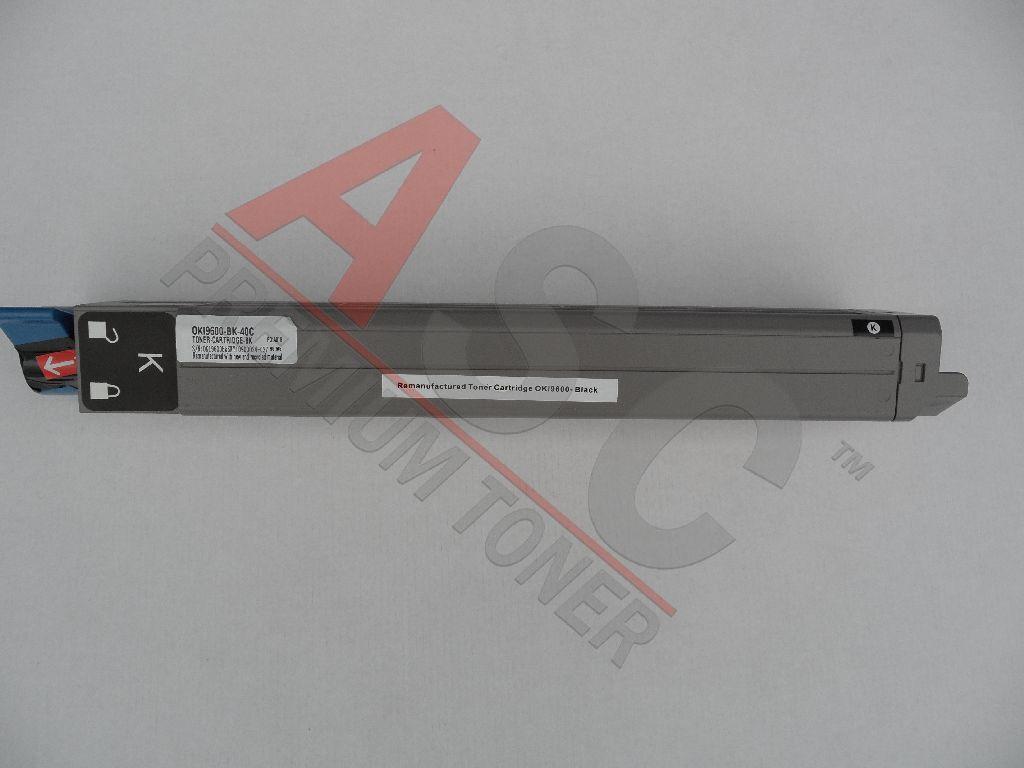 OKI Cartouche de Toner pour OKI 42918916 noir compatible (de marque ASC)