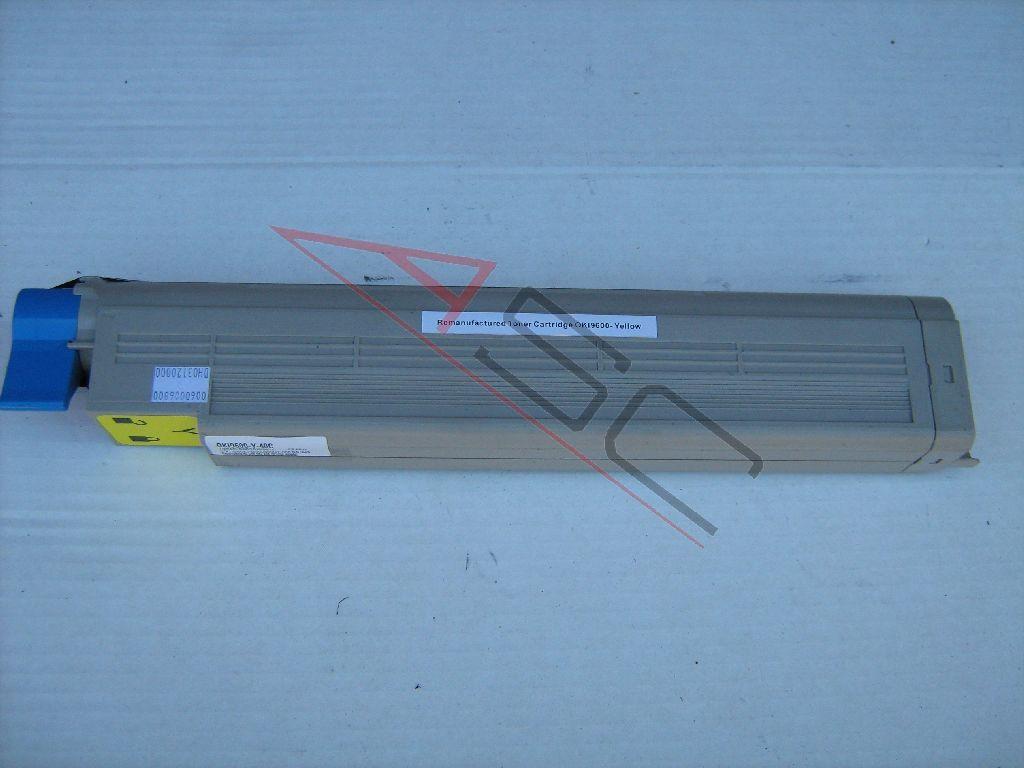 OKI Cartouche de Toner pour OKI 42918913 jaune compatible (de marque ASC)