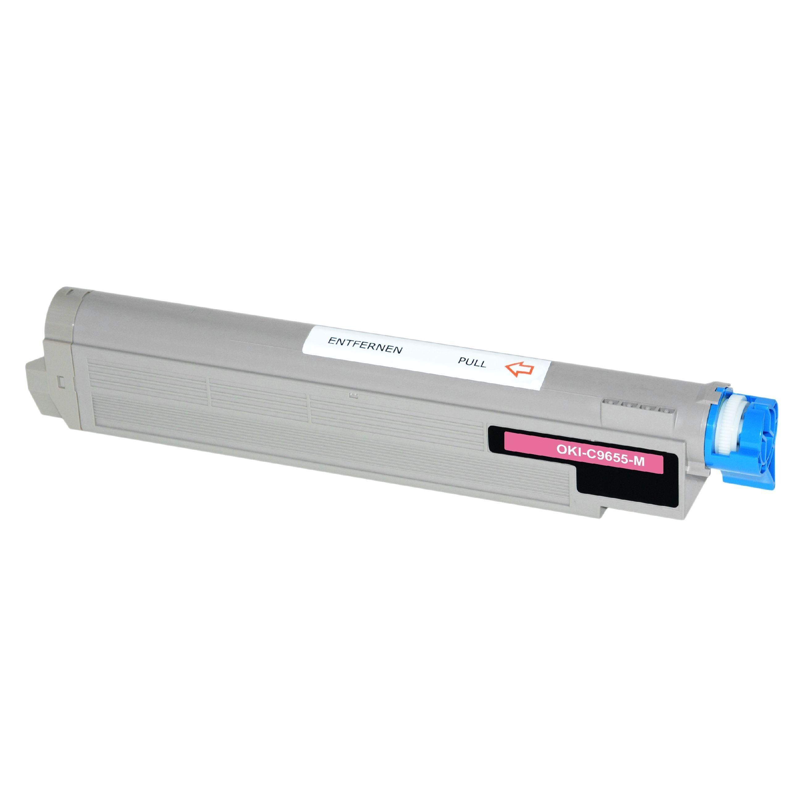 OKI Cartouche de Toner pour OKI 43837130 magenta compatible (de marque ASC)