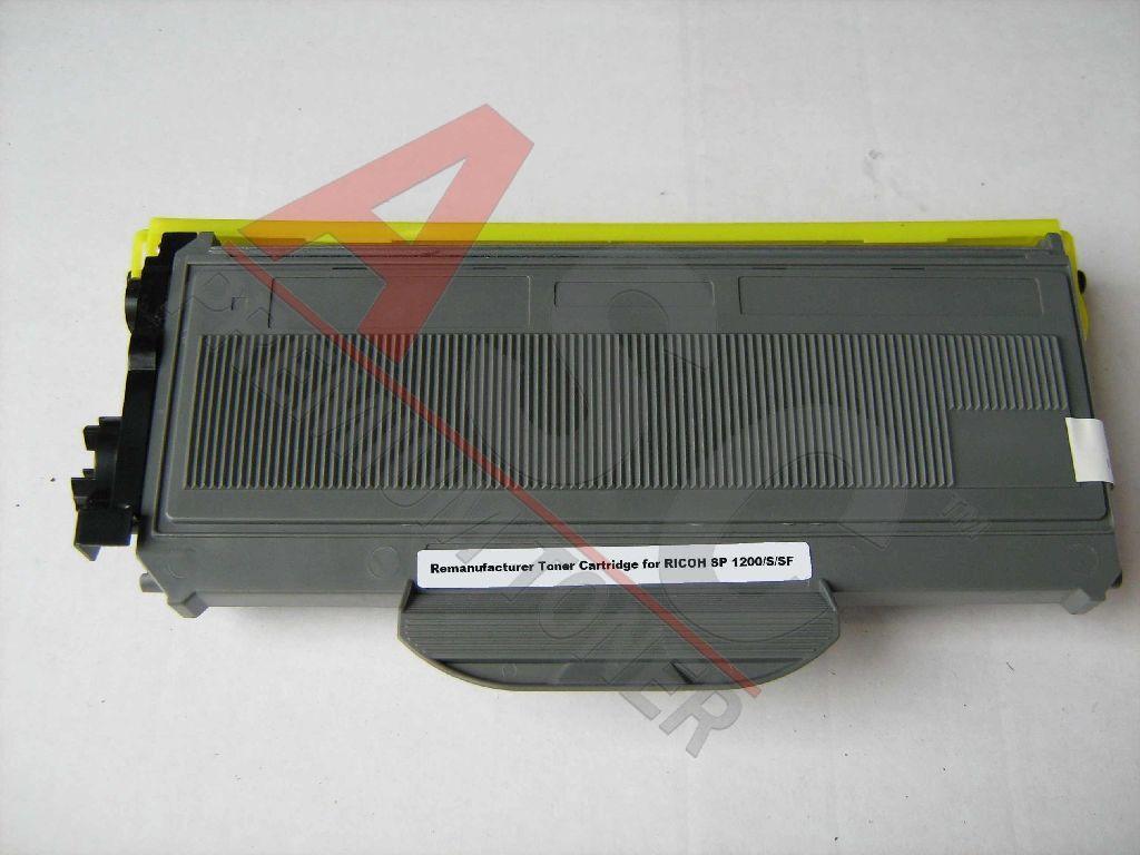 Ricoh Cartouche de Toner pour Ricoh 406837 / TYPE 1200 E noir compatible (de marque ASC)