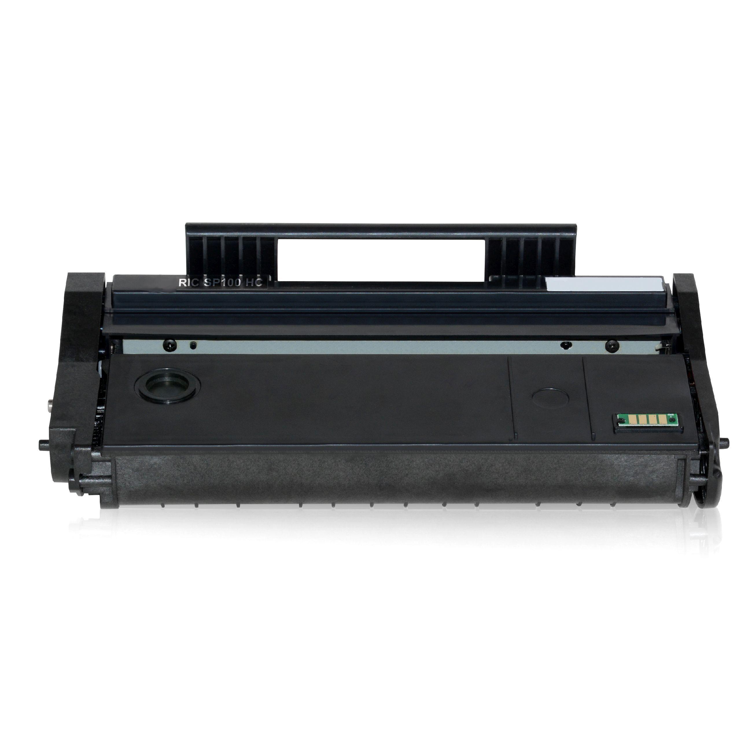 Ricoh Cartouche de Toner pour Ricoh 407166 / TYPE SP 100 LE noir compatible (de marque ASC)