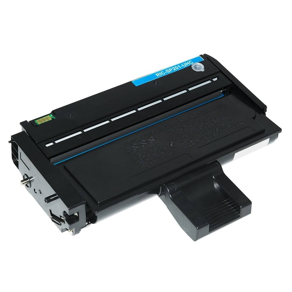 Ricoh Cartouche de Toner pour Ricoh 407254 / TYPE SP 201 HE noir compatible (de marque ASC)