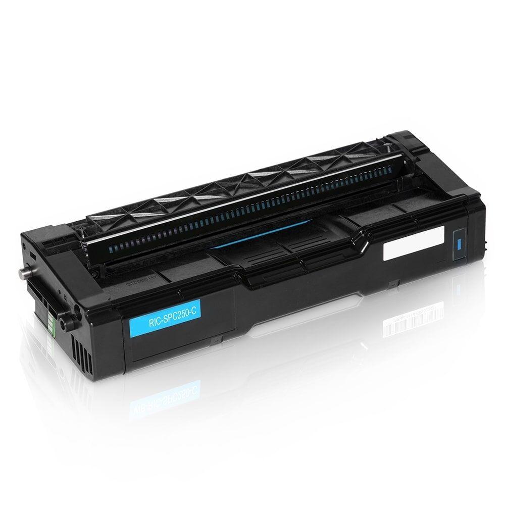 Ricoh Cartouche de Toner pour Ricoh 407544 cyan compatible (de marque ASC)