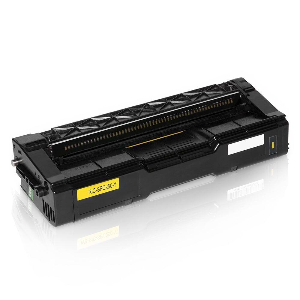Ricoh Cartouche de Toner pour Ricoh 407546 jaune compatible (de marque ASC)