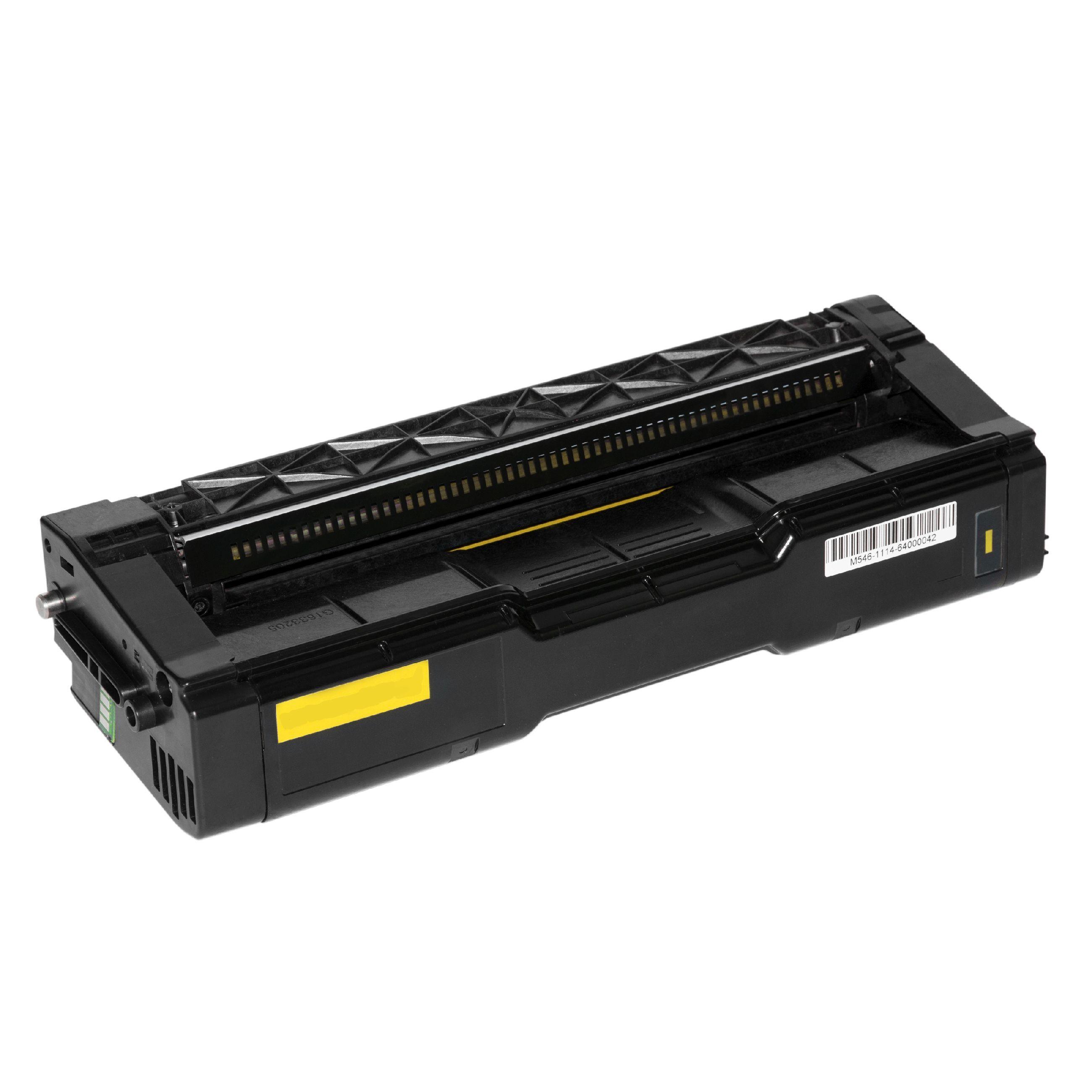 Ricoh Cartouche de Toner pour Ricoh 407719 jaune compatible (de marque ASC)