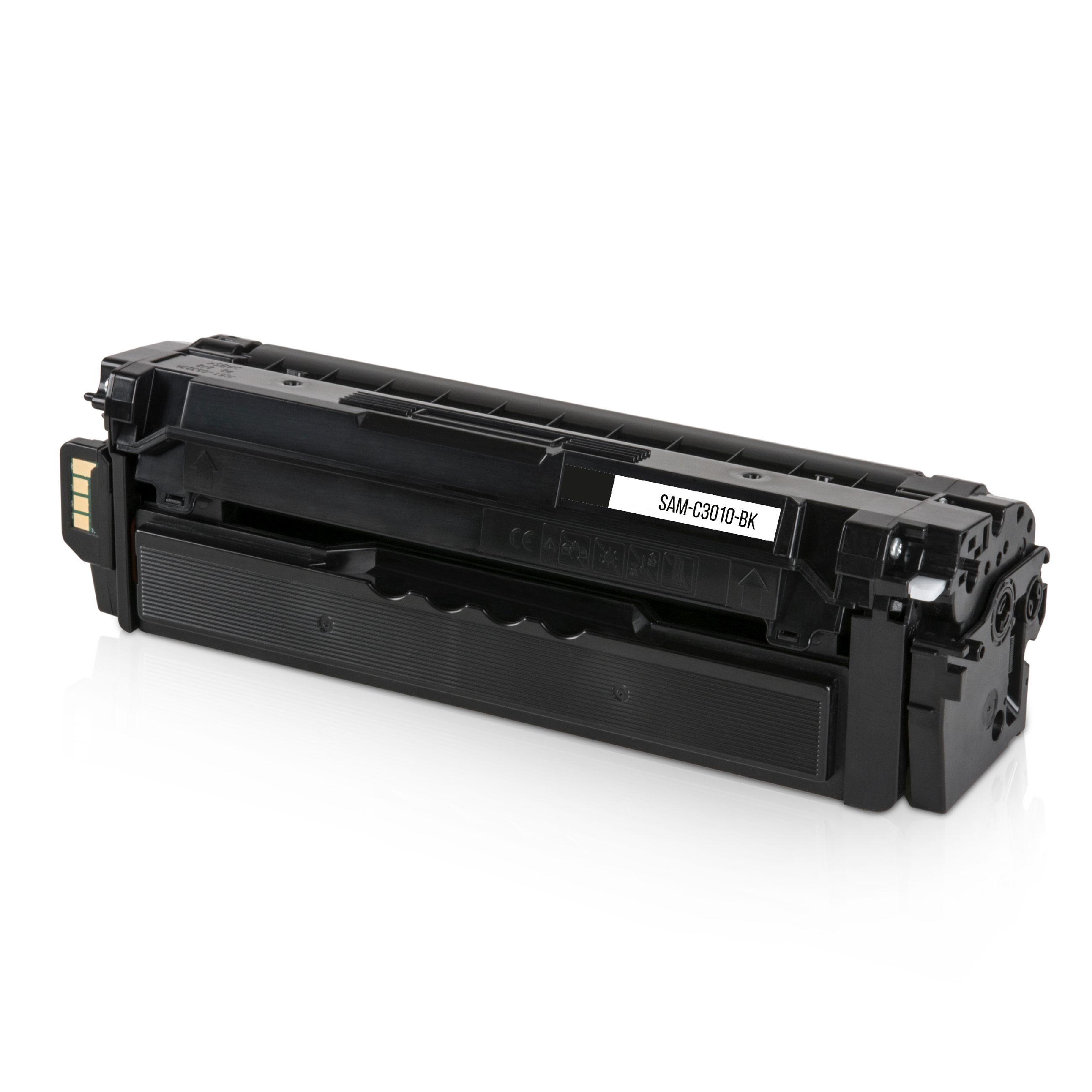 Samsung Cartouche de Toner pour Samsung CLTK503LELS / K503L noir compatible (de marque ASC)