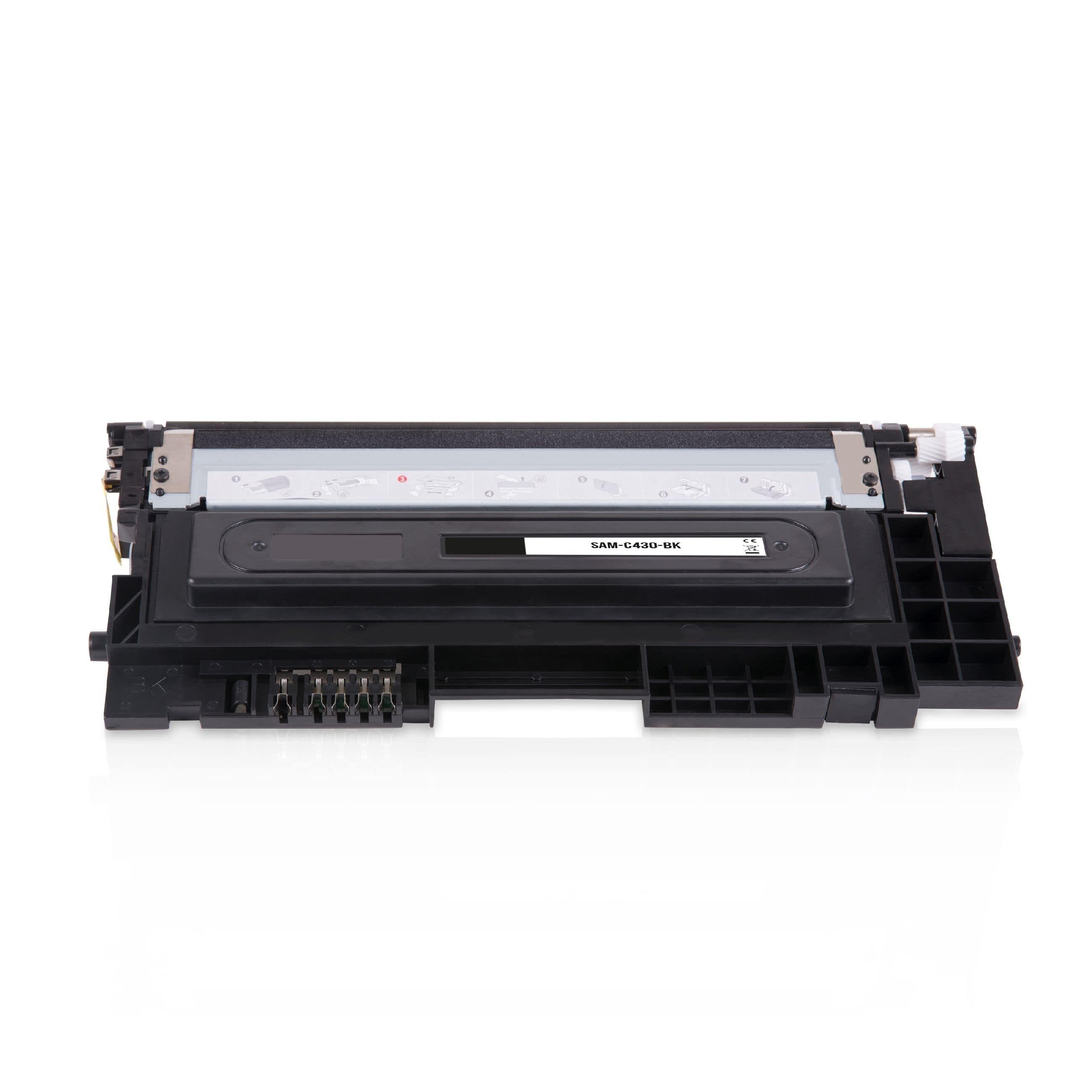 Samsung Cartouche de Toner pour Samsung CLTK404SELS / K404S noir compatible (de marque ASC)