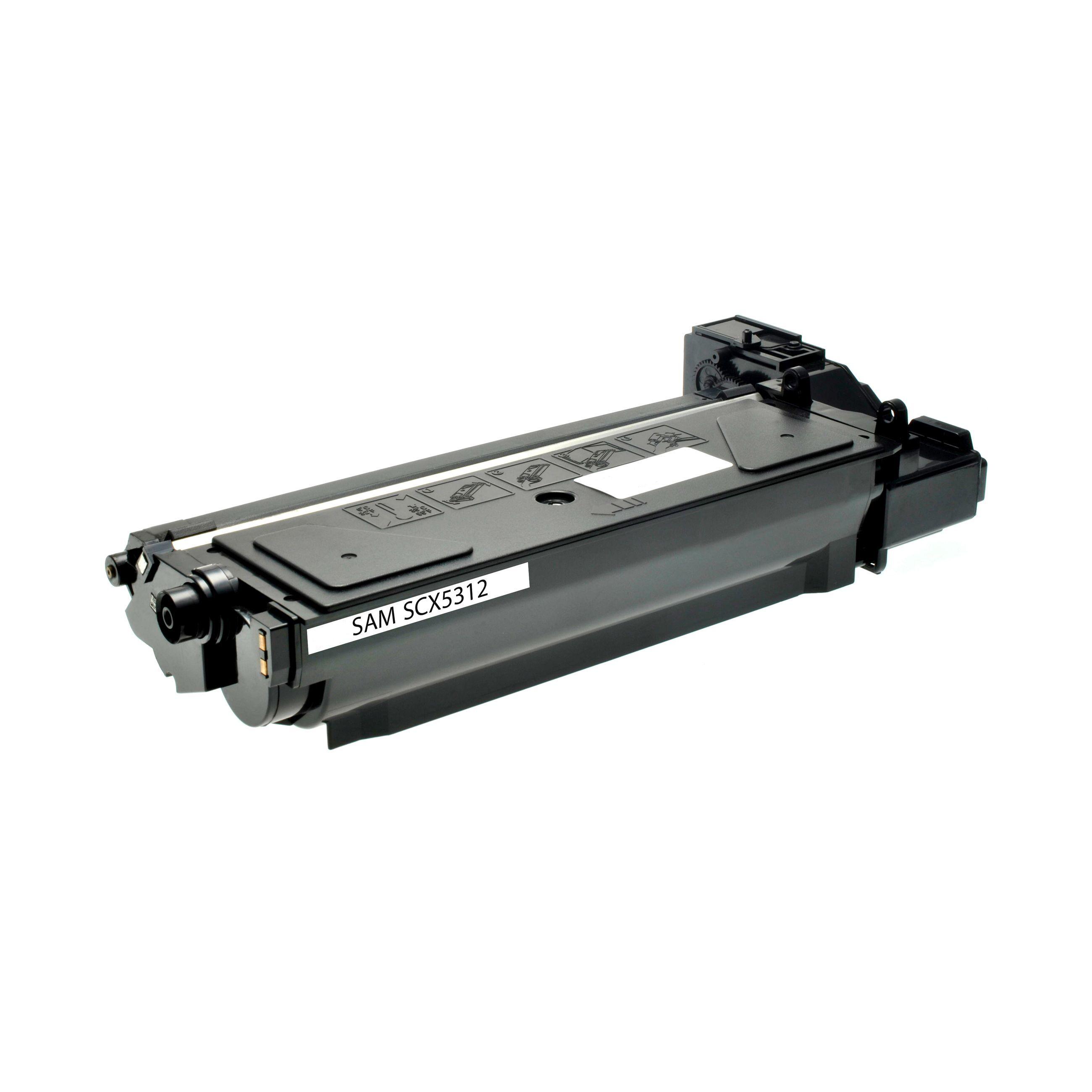 Samsung Cartouche de Toner pour Samsung SCX5312D6ELS noir compatible (de marque ASC)