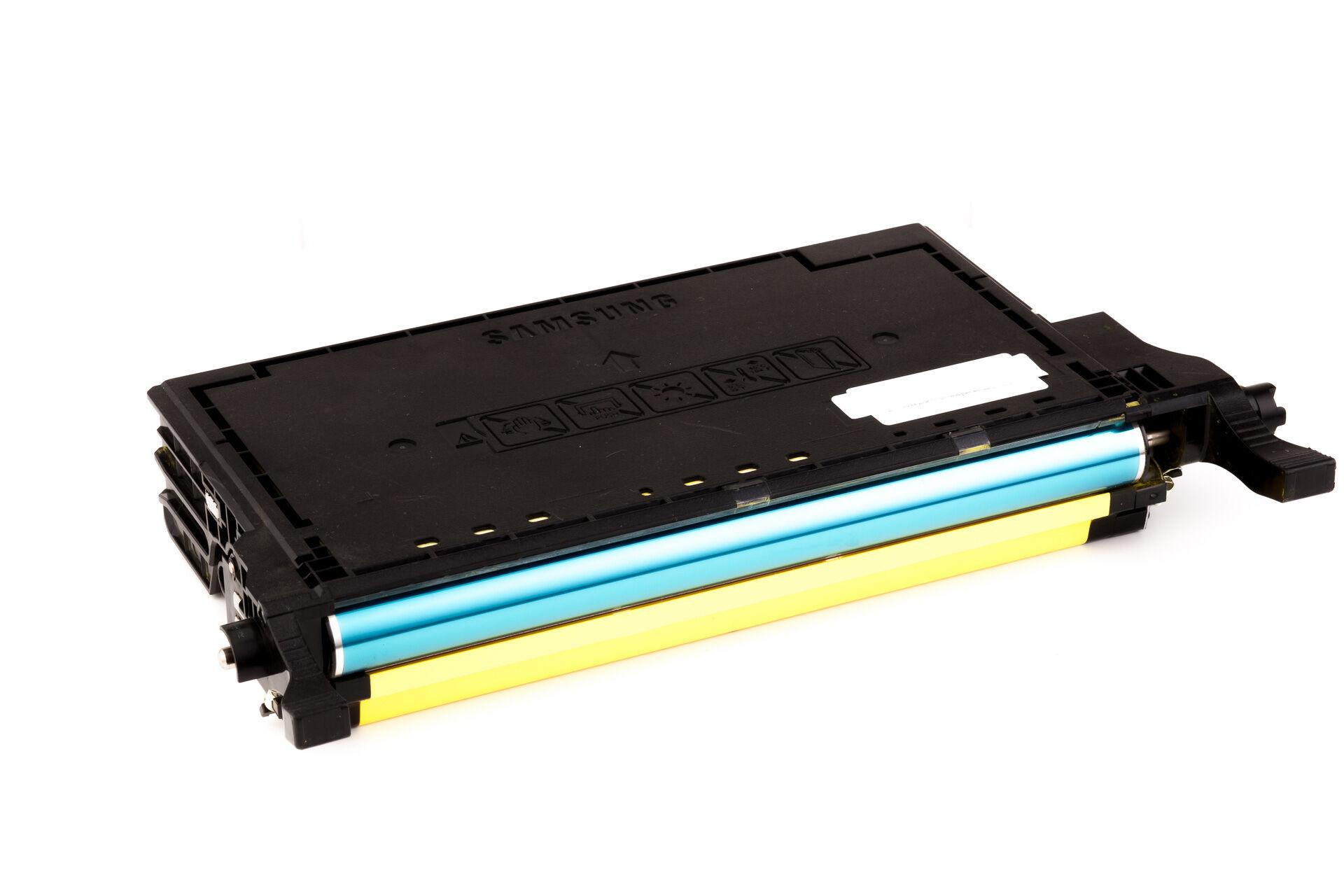 Samsung Cartouche de Toner pour Samsung CLTY6092SELS / Y6092S jaune compatible (de marque ASC)
