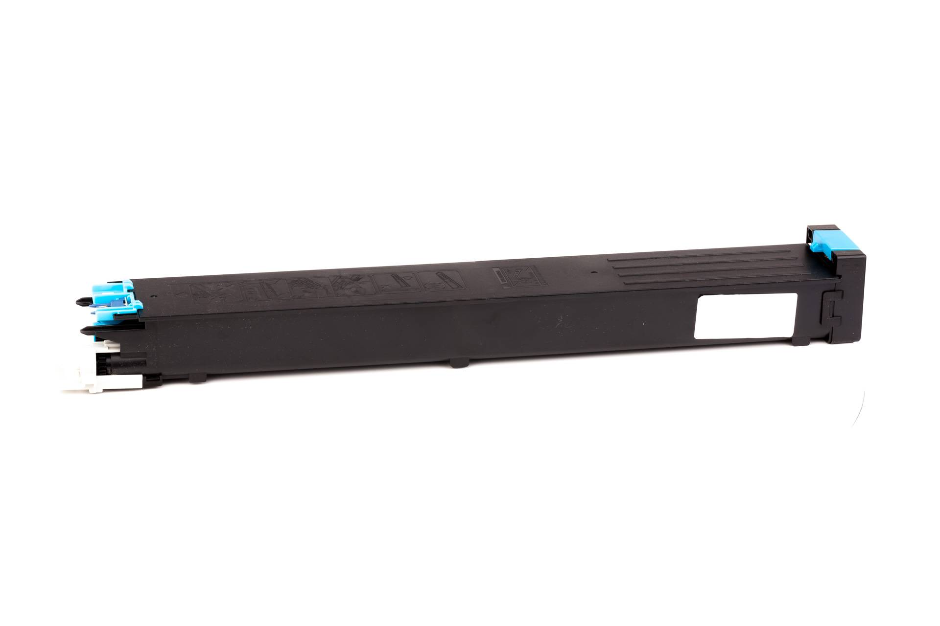 Sharp Cartouche de Toner pour Sharp MX31GTCA cyan compatible (de marque ASC)