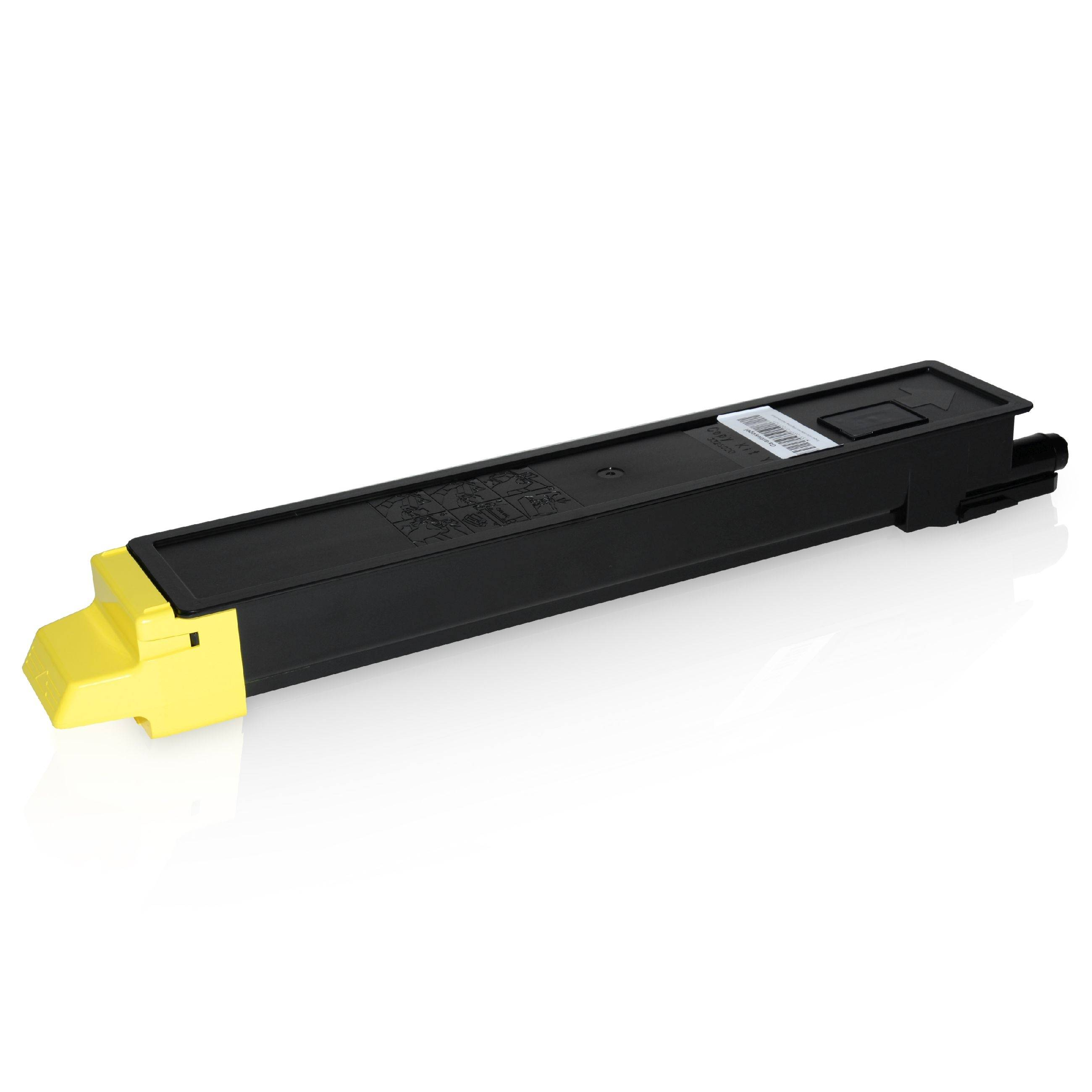 Utax Cartouche de Toner pour Utax 652511016 jaune compatible (de marque ASC)