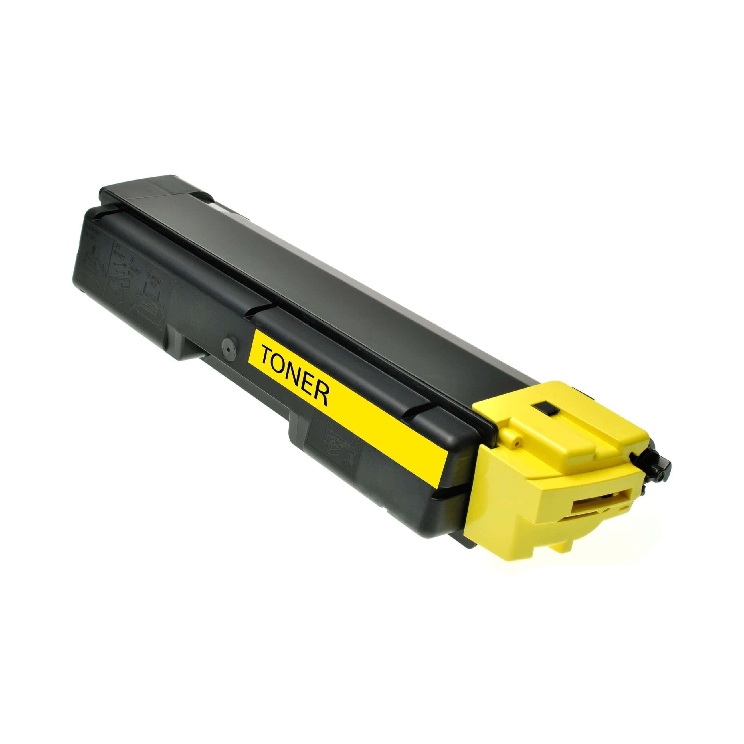 Utax Cartouche de Toner pour Utax 4472110016 jaune compatible (de marque ASC)