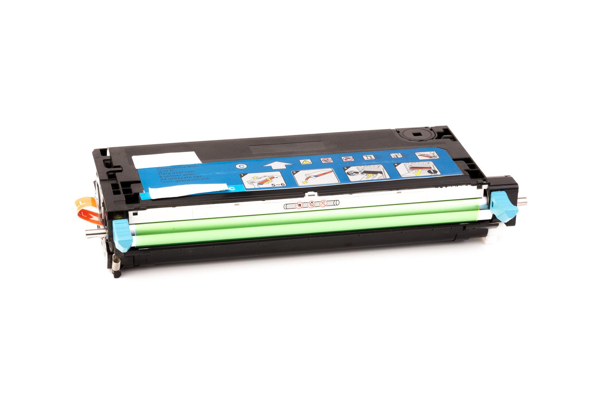 Xerox Cartouche de Toner pour Xerox 113R00723 cyan compatible (de marque ASC)