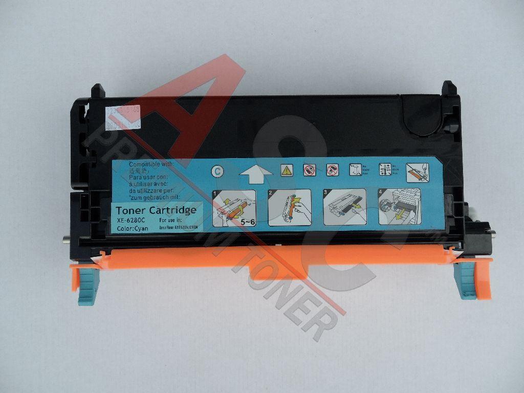Xerox Cartouche de Toner pour Xerox 106R01392 cyan compatible (de marque ASC)