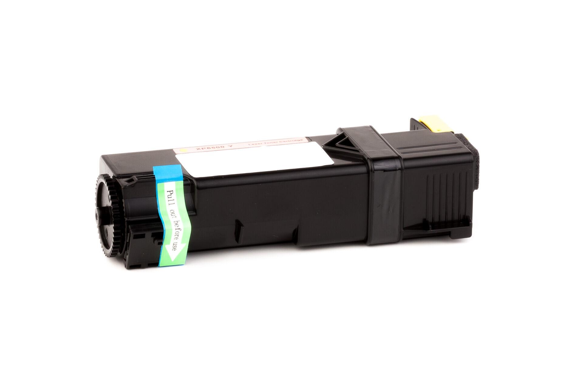 Xerox Cartouche de Toner pour Xerox 106R01596 jaune compatible (de marque ASC)
