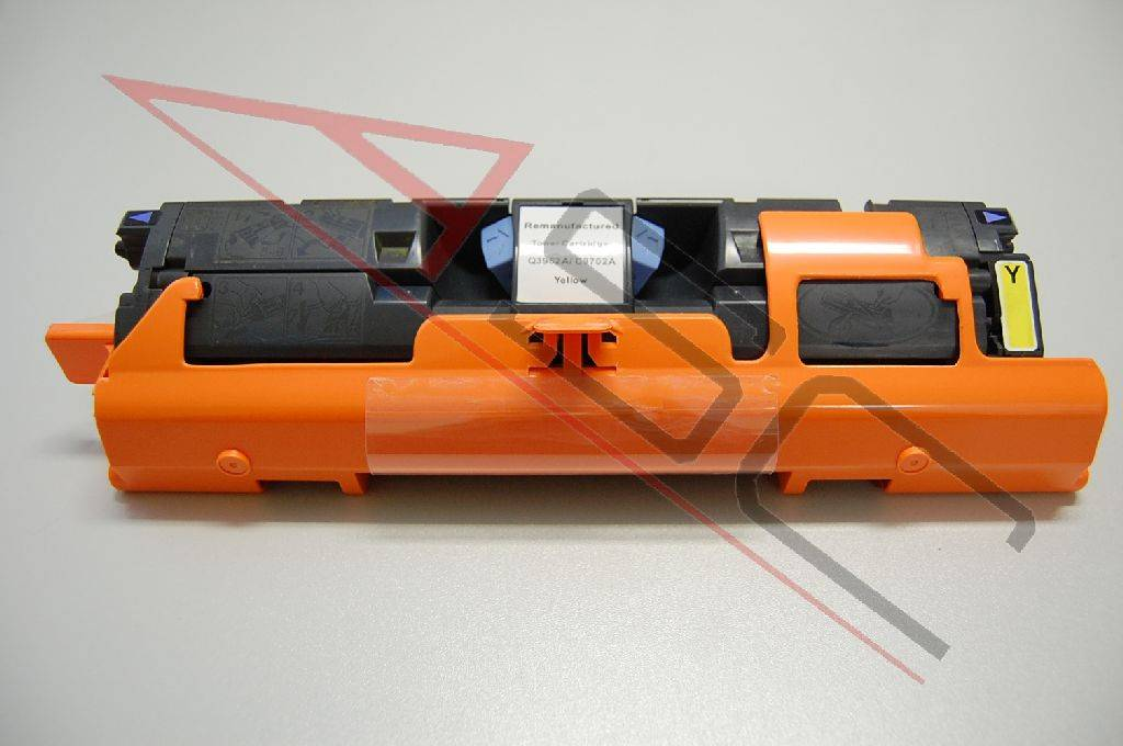 HP Cartouche de Toner pour HP C9702A / 121A jaune compatible (de marque ASC)