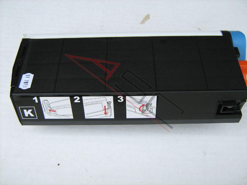 OKI Cartouche de Toner pour OKI 41304212 noir compatible (de marque ASC)