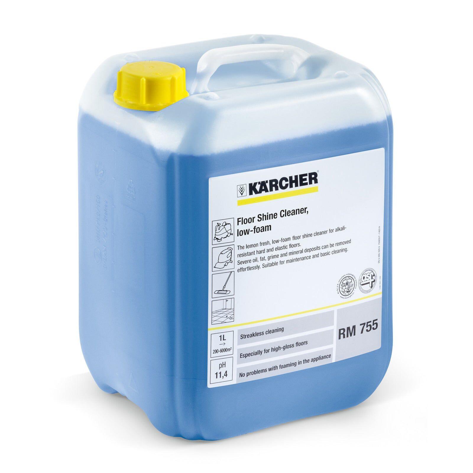 Kärcher Nettoyant pour sols brillants FloorPro RM 755 10 l Kärcher 6.295-174.0