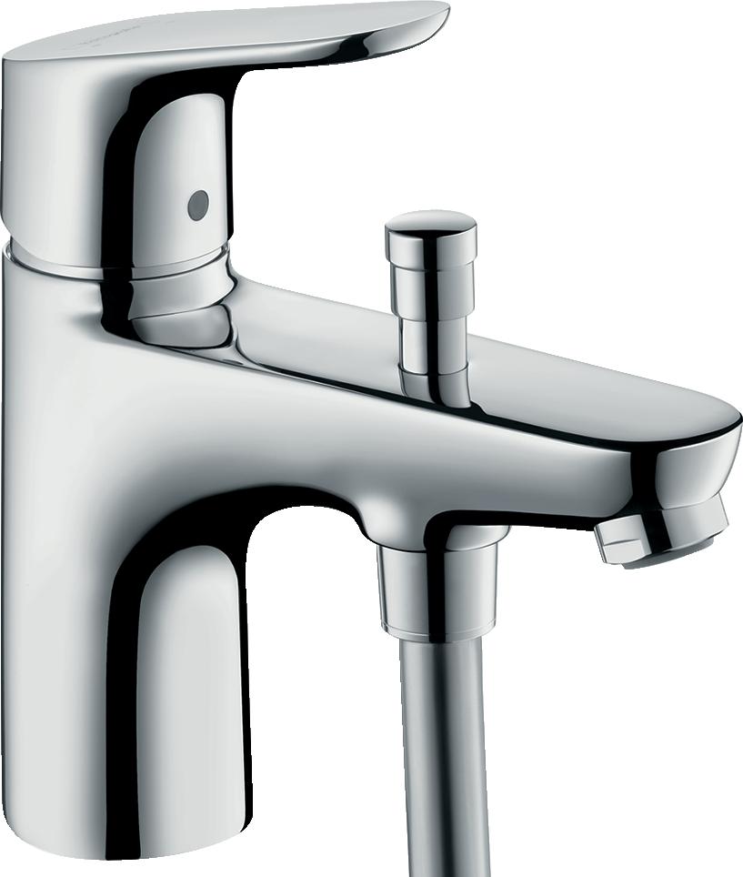 Hansgrohe Focus Mitigeur bain/douche C2 monotrou avec cartouche à 2 vitesses