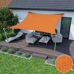Jarolift Voile d'ombrage carrée, tissu respirant, orange, 5 x 5... par LeGuide.com Publicité